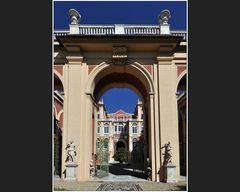 Im Garten des Palazzo Reale