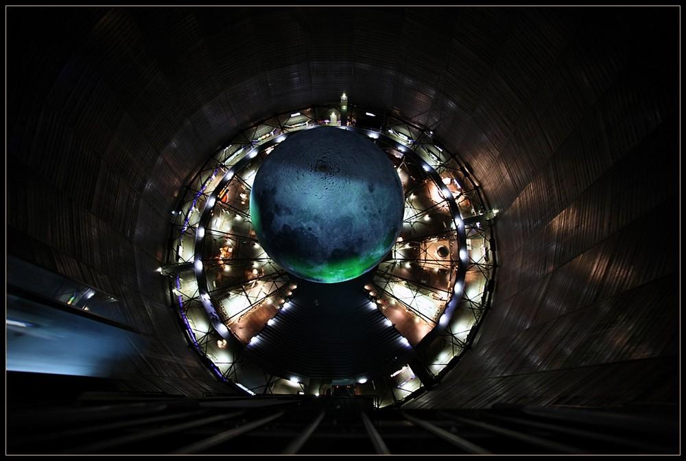 Im Gasometer Oberhausen