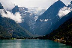 Im Gletschergebiet des Jostedalsbreen