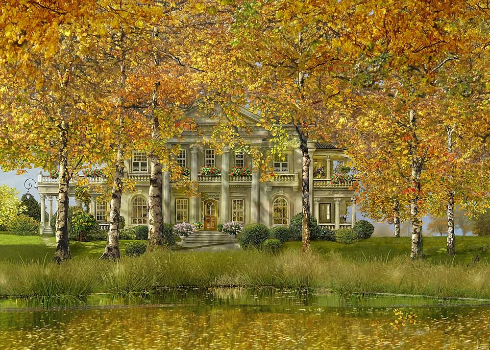 im goldenen Oktober