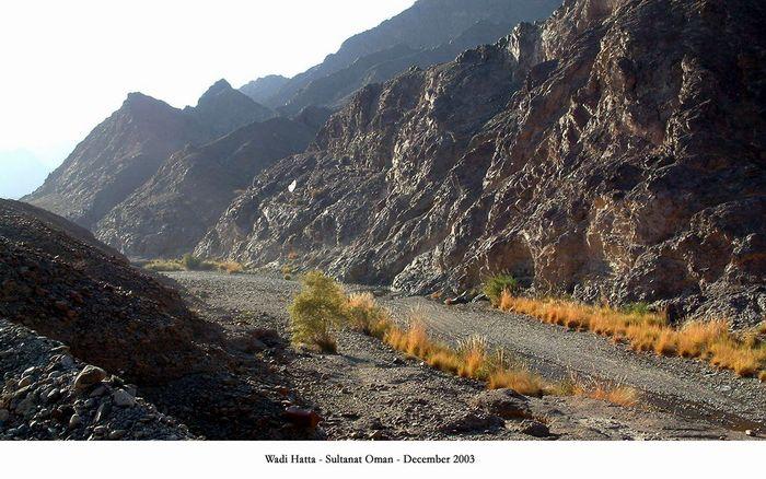Im Grenzland zwischen Oman und den Arabischen Emiraten
