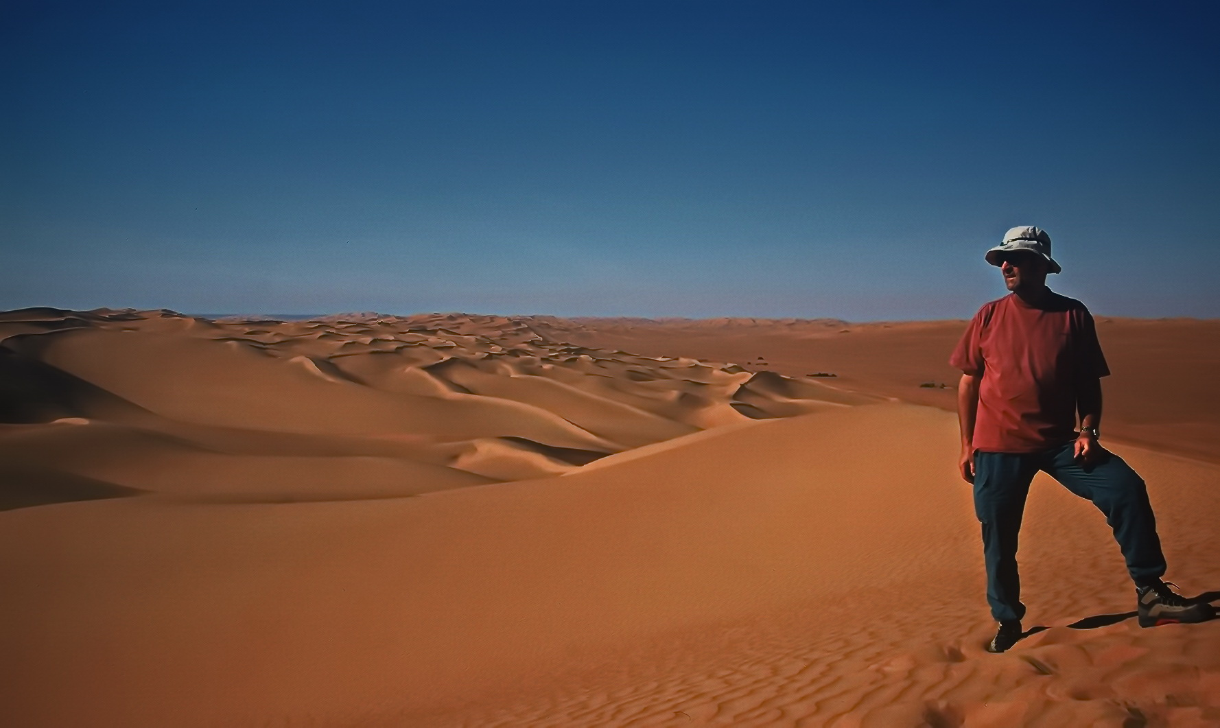 Im großen Sandmeer der Libyschen Wüste