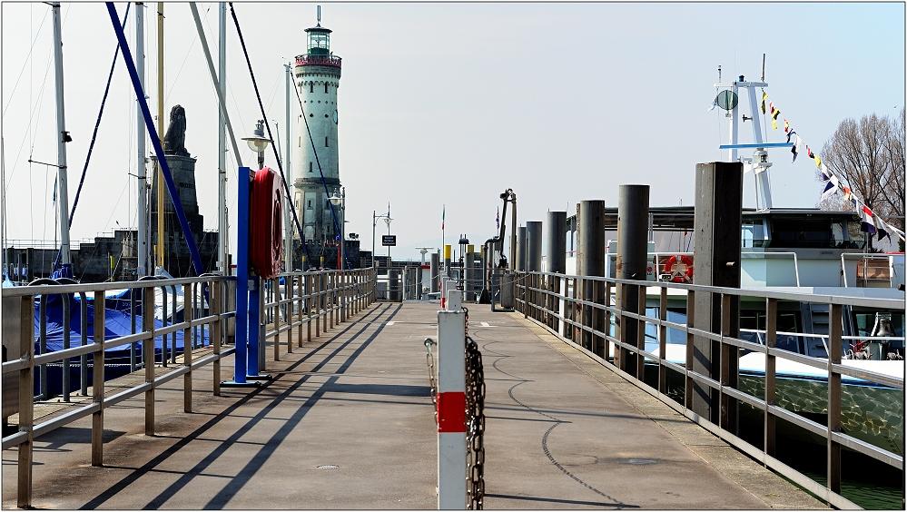... im Hafen ...