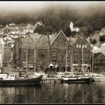 Im Hafen von Bergen / Norwegen