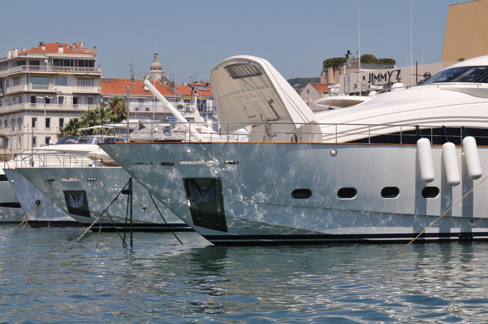 im Hafen von Cannes
