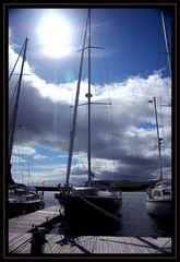 Im Hafen Von Craobh Haven.