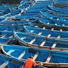 Im Hafen von Essaouira