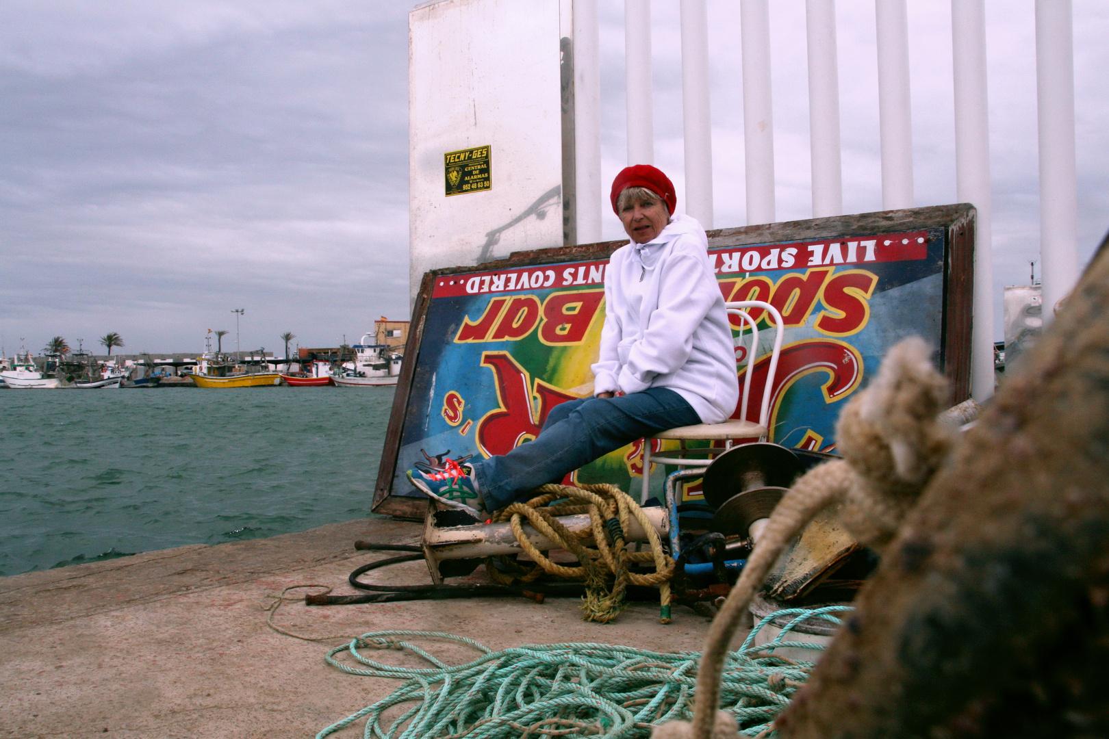 Im Hafen von Fuengirola