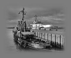 im Hafen von Helgoland  ©