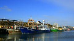 Im Hafen von Hörnum auf Sylt