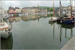 Im Hafen von Honfleur
