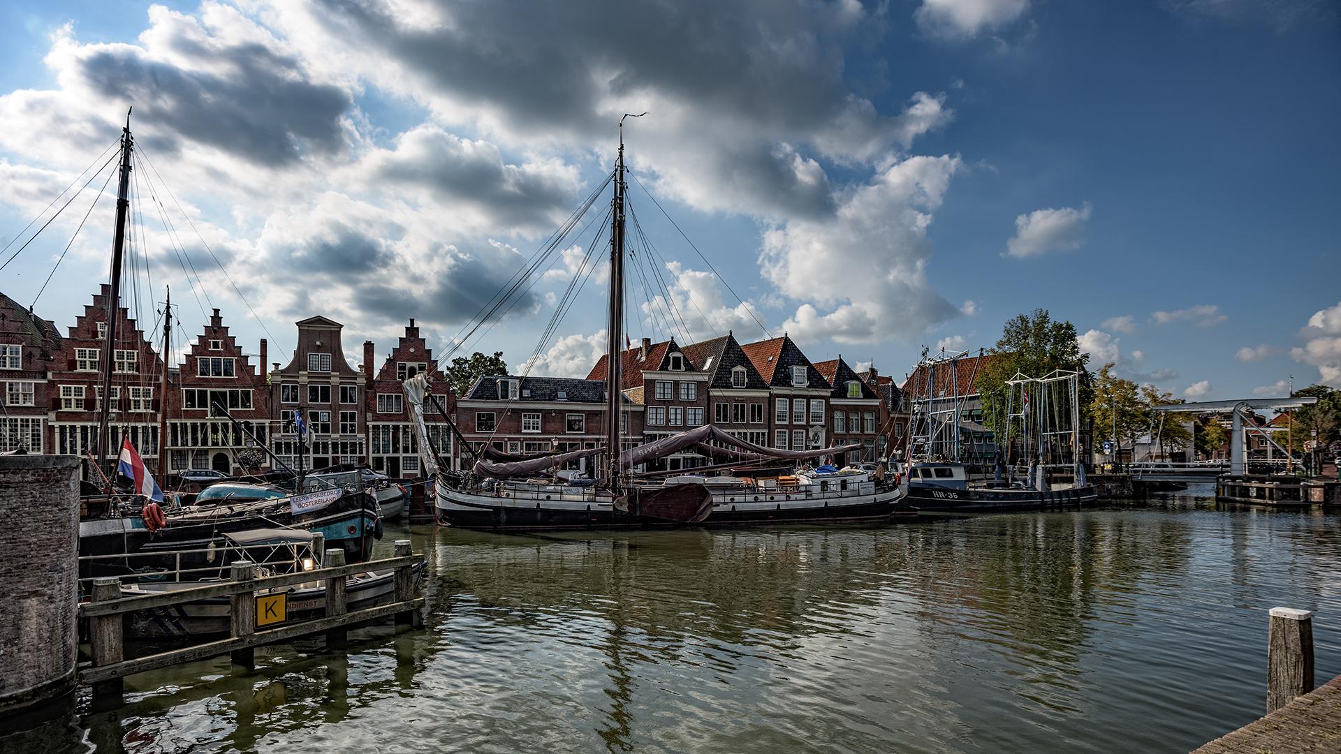 im Hafen von Hoorn