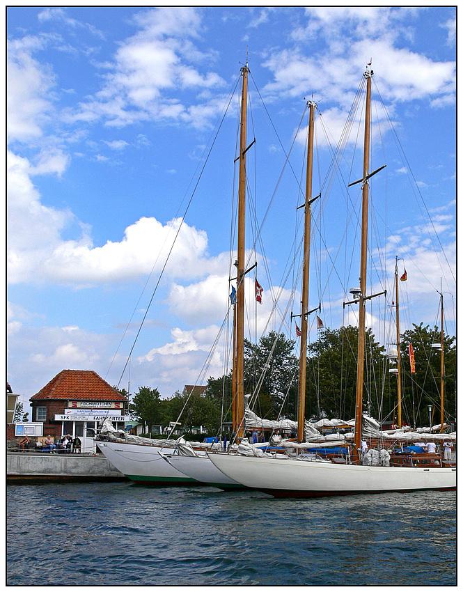 Im Hafen von Laboe