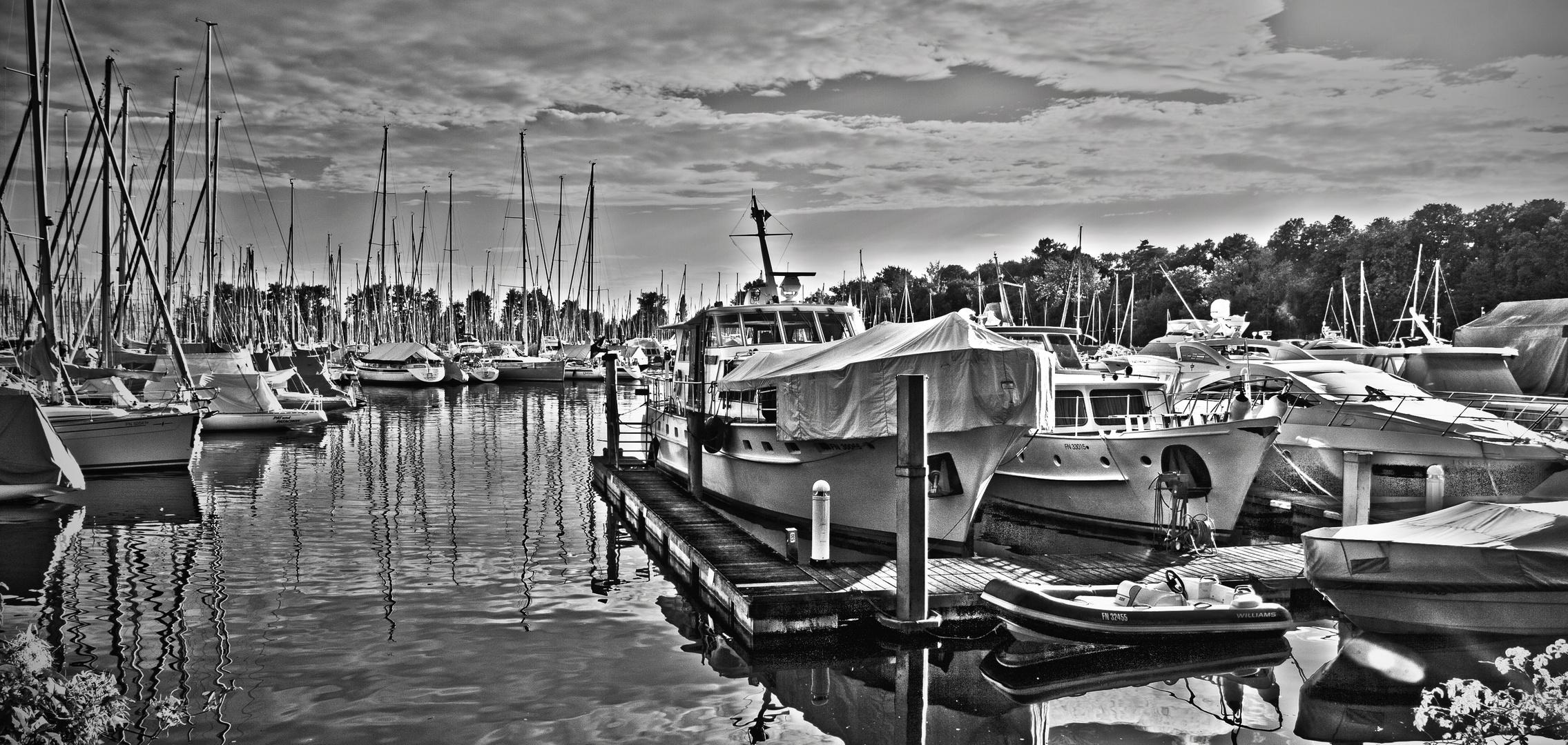 im Hafen von Langenargen