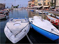 Im Hafen von Lazise
