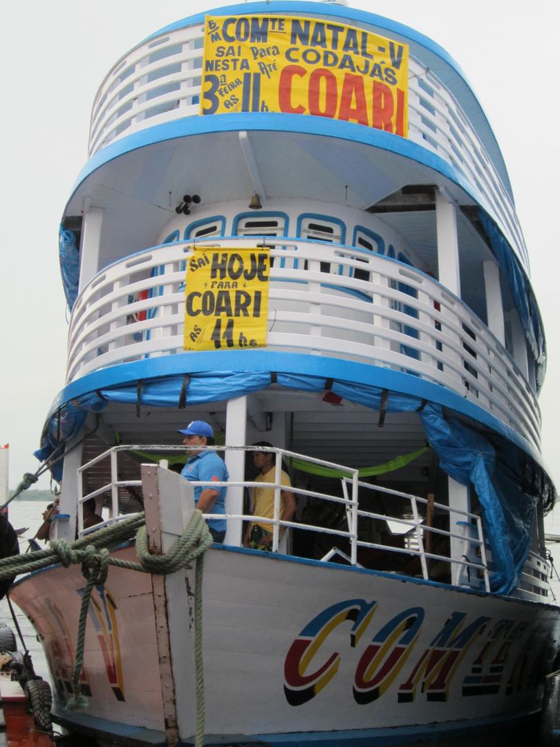 Im Hafen von Manaus
