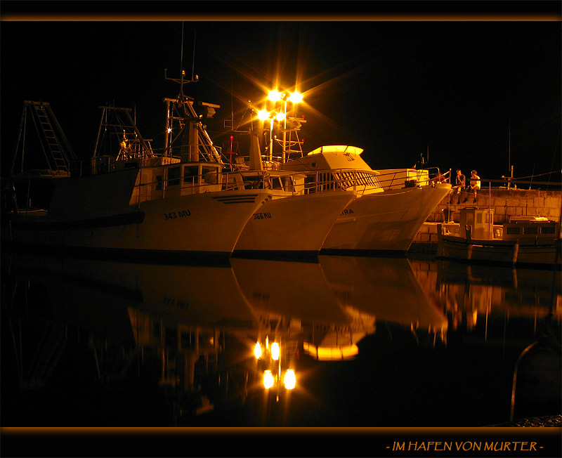 Im Hafen von Murter