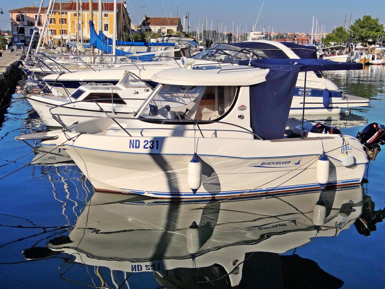im Hafen von Novigrad