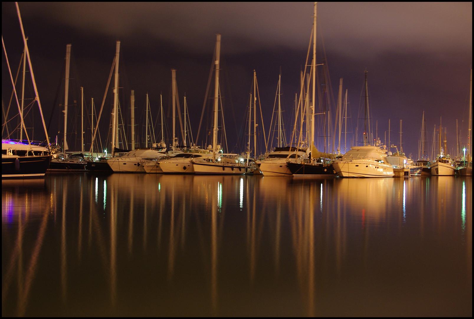 Im Hafen von Palma