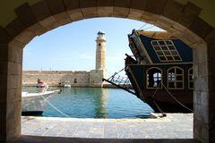 Im Hafen von Rethymno, Kreta