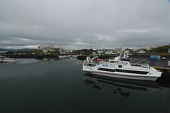 im Hafen von Stykkisholmur Island