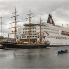 Im Hafen von Tórshavn, Färöer-Inseln
