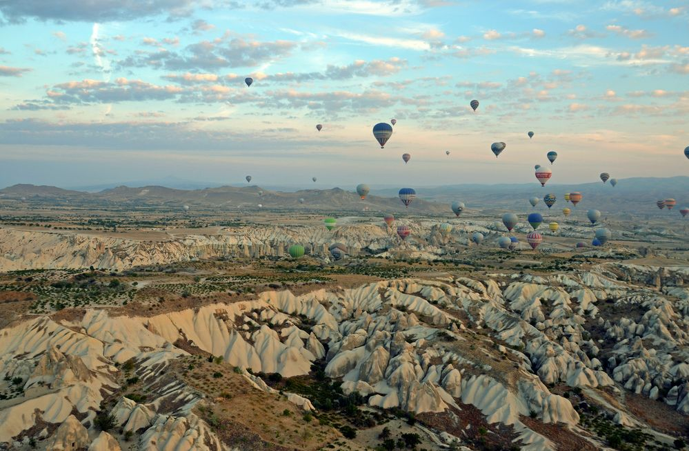 Im Heißluftballon über Kappadokien (1)