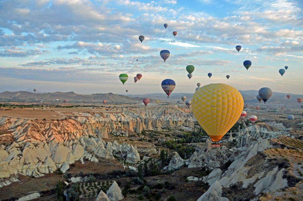 Im Heißluftballon über Kappadokien (2)