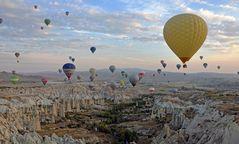 Im Heißluftballon über Kappadokien (3)