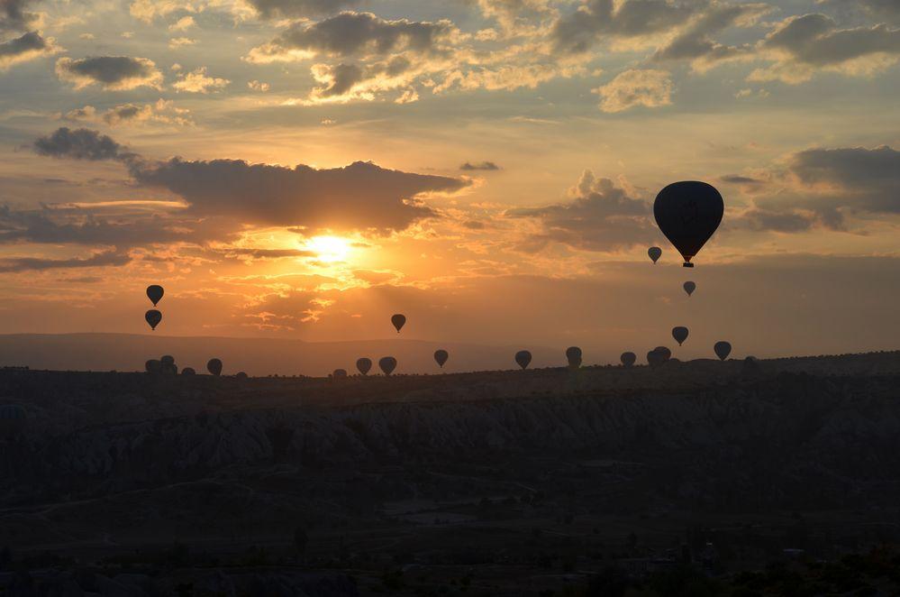 Im Heißluftballon über Kappadokien (4)