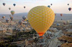 Im Heißluftballon über Kappadokien (5)