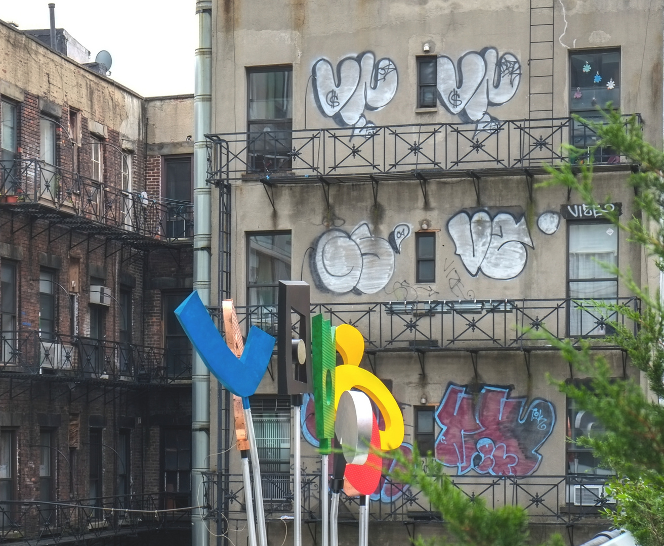 im High Line Park