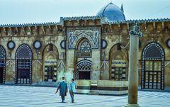 Im Hof der Mosche.      .120_3860