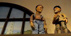 im Homunkulus ( Puppenmuseum) Puppen