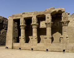 Im Horustempel in Edfu