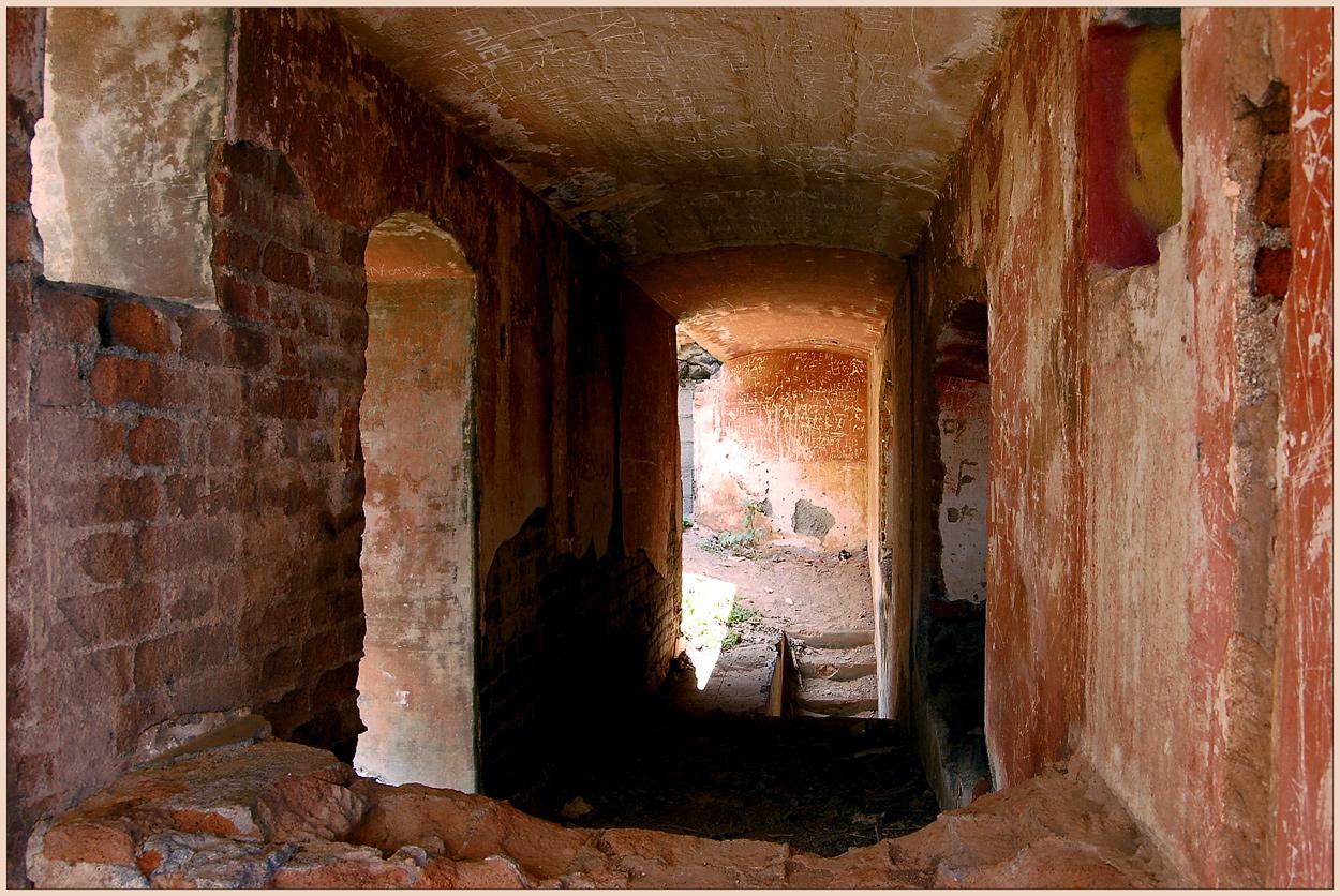 Im Inneren der Casa de Dios