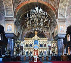 Im Inneren der Uspenski Kathedrale