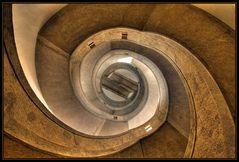 Im Innern eines Wasserturms