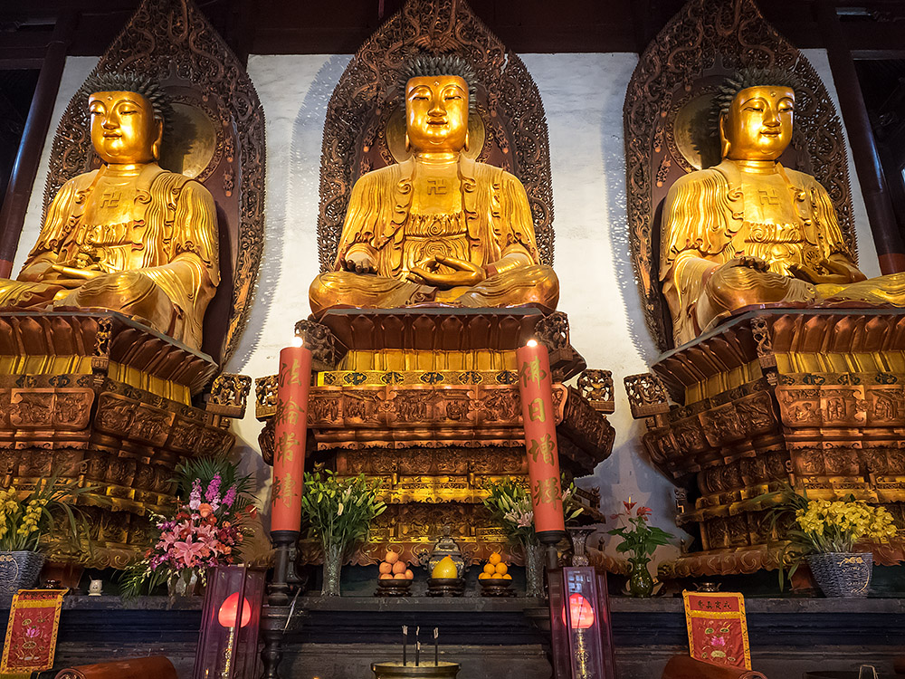 Im Jade Buddha Tempel