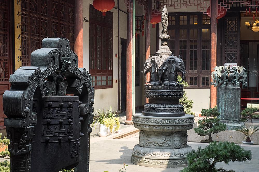 Im Jade Buddha Tempel IV