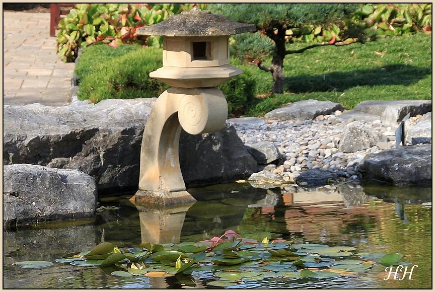 im japanischen Garten...