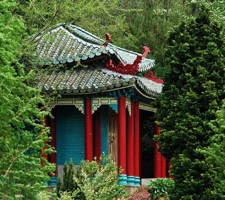 Im japanischen Garten