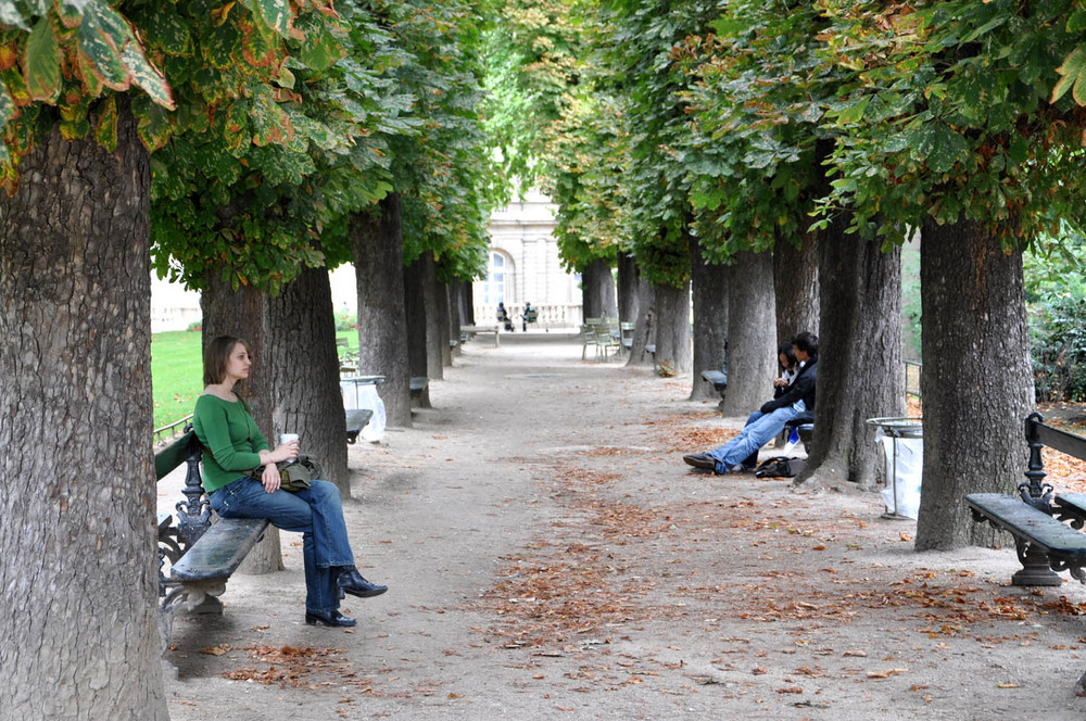 Im Jardin de Luxembourg