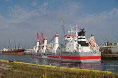 Im Kaiserhafen bei Kaiserwetter:-))
