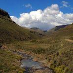 Im kargen Hochland von Lesotho