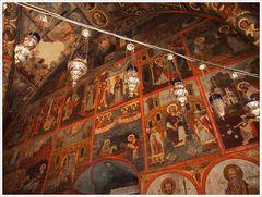 Im Kloster Panormitis - Symi