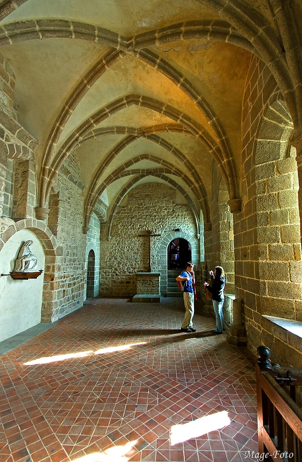 Im Klostergang