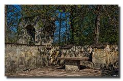 im Klostergarten....