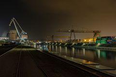 im Koblenzer Rheinhafen