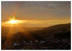 Im letzten Sonnenlicht...